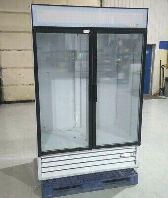 Beverage-air Mt49-w Commercial Refrigerator Freezer Glass Door Display Cooler