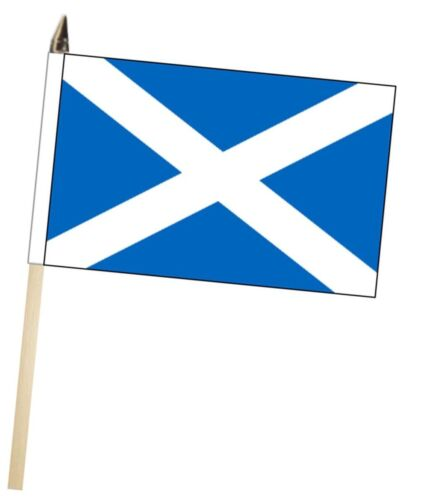 Scotland St Andrews Saltire Large Hand Waving Courtesy Flag