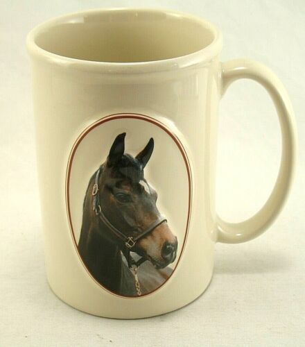 Equine Expressions Coffee Mug Bay Horse 3D with Shakespeare Quote 2004