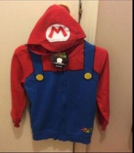 Super Mario hoodie new with tags