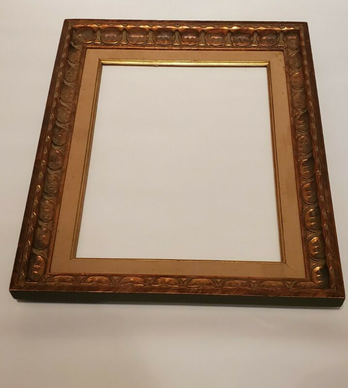 Gold Vintage Picture Frame Fits 12  X 16  Picture