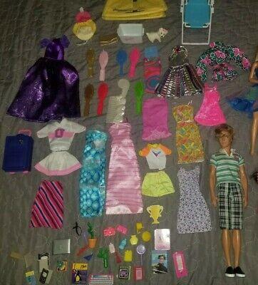 Vintage BARBIE DOLLS, KEN, Dresses and accessories