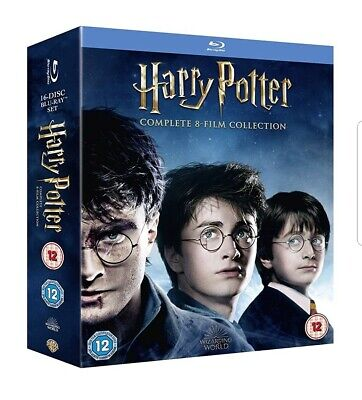 Harry Potter - Complete 8-Film Collection (2016 Edition) Blu-ray -new and sealed