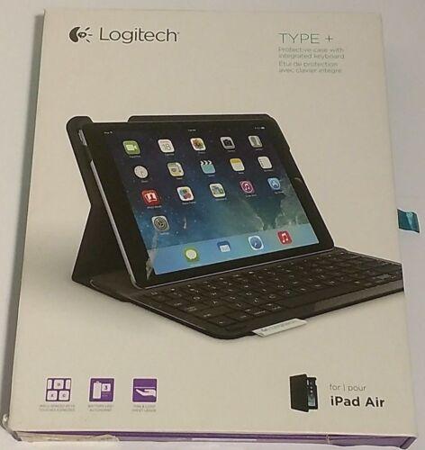 Logitech Type+ Keyboard Case for Apple® iPad® Air Carbon Black 920-006909