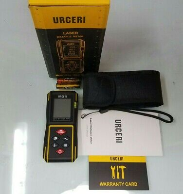 Urceri Laser Measure 131ft40m Digital Laser Distance Meter With Mute Function