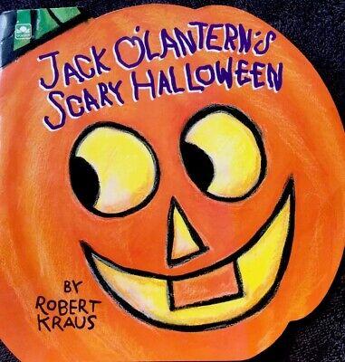 Scarry Halloween (JACK O'LANTERN'S SCARRY HALLOWEEN ~ Vintage Children's Golden SUPER Shape)