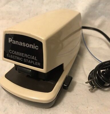 Panasonic Commercial Electric Stapler Model As-300n Tested And Working. 25 Sheet