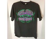 "805063050 TERROR T-Shirt /""To The Grave/""Black Gabber Hardcore Techno❌ SALE ❌"