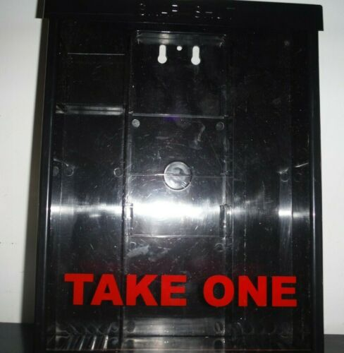 Snap Top Take One Brochure Holder Flyer Box Outdoor Realtor Style