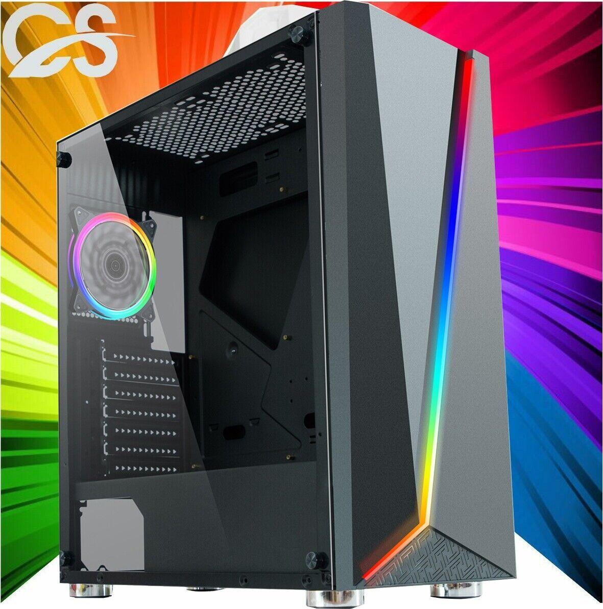 Computer Games - ULTRA FAST Gaming PC Computer Intel Quad Core i5 8GB 120GB Win10 2GB GT710 CHEAP