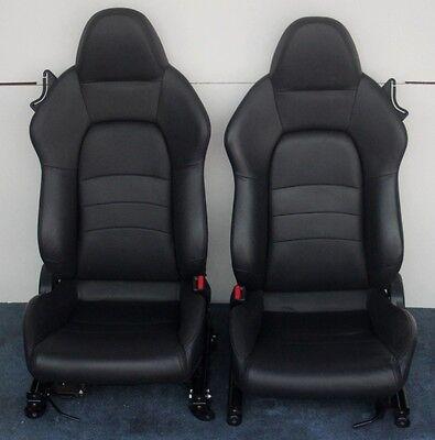 2009 2008 2007 2006 Honda S2000 Show Car Restoration Seats Black Leather