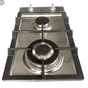 Ramble wood 2 burner cooktop