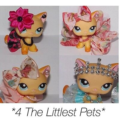 Littlest pet shop clothes 4pc random outfit LPS *CAT/DOG NOT INCLUDED*