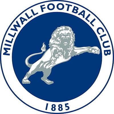 Millwall F.C Football Club Vinyl DieCut Sticker Decal FC Soccer 4 Stickers