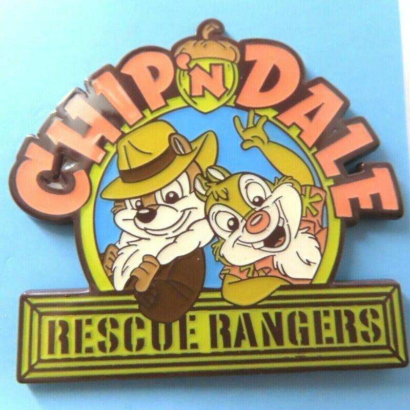 Disney Pin JDS - Chip n' Dale Rescue Rangers Logo #134305