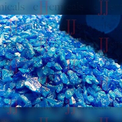 Copper Sulfate Small Crystals Minimum Of 99.8 Purity 10lb