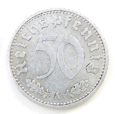 Deutsches Reich 50 Pfenning von 1935/A -Aluminium-1,3gr.-D ca.22mm-