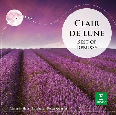 KELLER QUARTET AIMARD - CLAIR DE LUNE:BEST OF DEBUSSY  CD