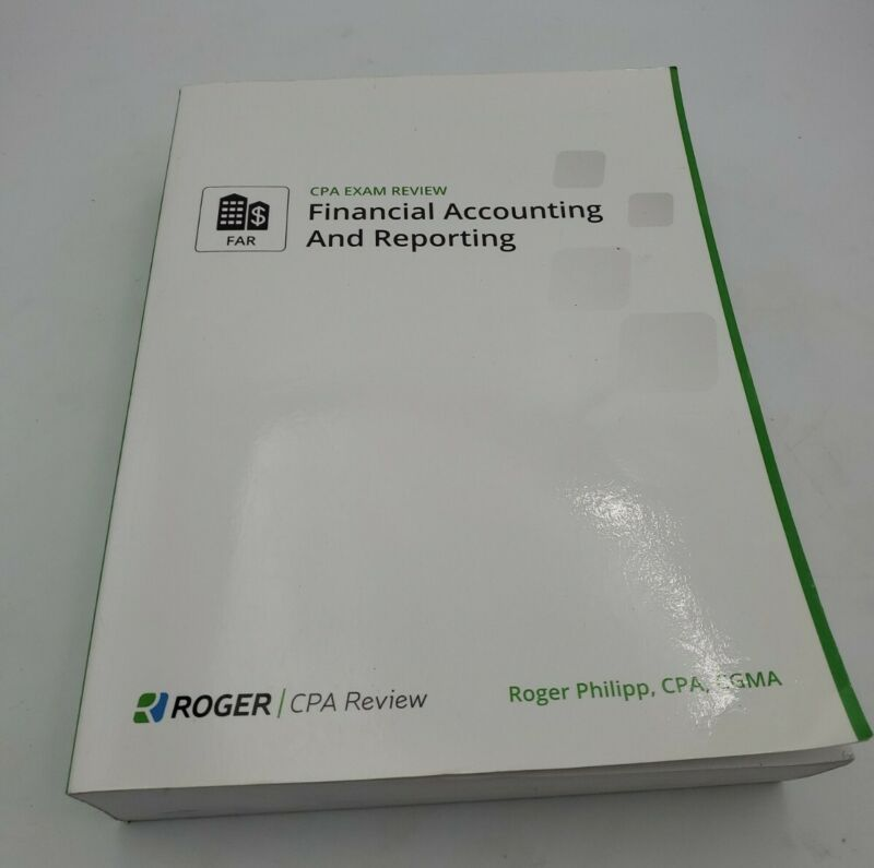2015 Roger CPA Review Books FAR Preowned no writing great condition