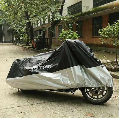 XXXL Waterproof Motorcycle Cover For Harley Davidson Street Glide FLHX Touring ()
