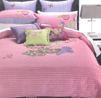 Home Republic Lolita King Bed Quilt Cover Set