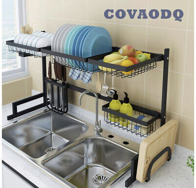 Kitchen Drying Rack, Dish Drying Rack Over Sink,