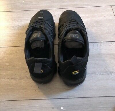 Nike Air Vapormax Plus Triple Black Size 7