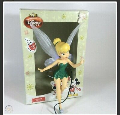 Disney World Tinker Bell Light-Up Holiday Christmas Tree Topper 2009