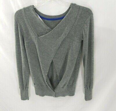 Lululemon Grey Merino Wool Sweater Sz 6