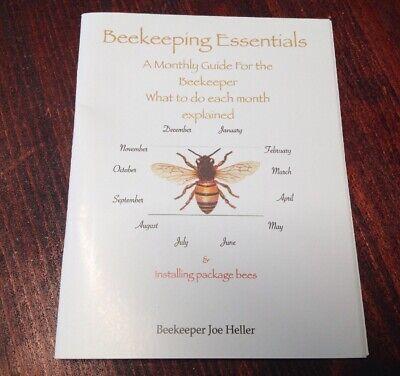 Beekeeping Book Monthly Guide Dana Bee Farm