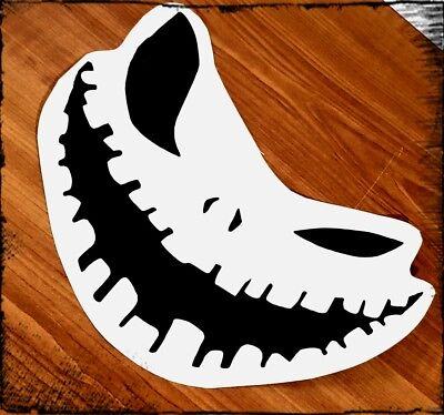 Fensteraufkleber Auto Halloween Horror Grinsen 15 x 9cm tuning Smiley chucky
