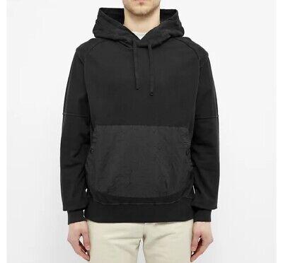 Stone Island Shadow Project Compact Fleece Hoodie Black XL $588