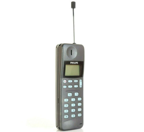 PHILIPS PR 143 - MOBILE PHONE BRICK CELL VINTAGE RETRO RARE COLLECTABLE