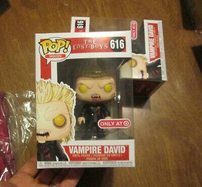 FUNKO POP MOVIES THE LOST BOYS VAMPIRE DAVID # 616 EXCLUSIVE TARGET - Boy Vampire