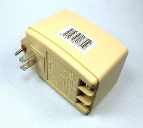 Universal Wall Transformer, 16.5VAC 40VA, 40 Watt  NEW