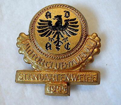 1955 ADAC Motorclub Murnau Standartenweihe Abzeichen Anstecknadel Pin Badge RAR!