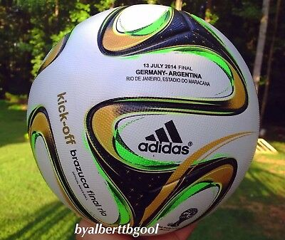 Adidas KICK-OFF Brazuca Final Rio 2014 Official Match Ball No teamgeist jabulani, used for sale  Gainesville