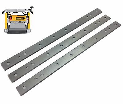 """12-1/2"""" Replacement Planer Knive Blade for Dewalt DW734 replaces DW7342 Set of 3"""