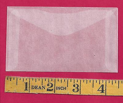 100 NEW JBM #3 Glassine Envelopes 2-1/2