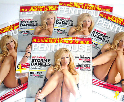 Penthouse Magazine ™ February 2007 ~ Stormy Daniels ~ NEW Never opened!