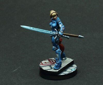 Joan of Arc Infinity 32mm Professional Painted Corvus Belli Limitiert