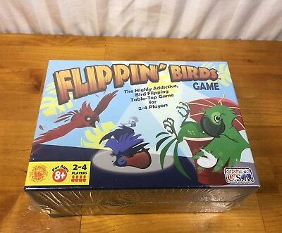 Flippin' Birds Game. Made in the USA from Channel Craft New*