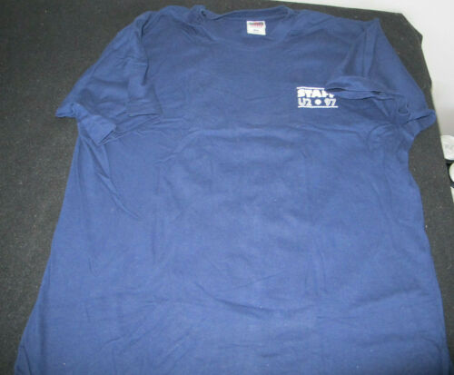 BGP U2 Staff Navy Blue T-shirt 1997 XL