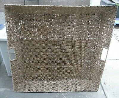 Vintage Extra Large Wicker Tray Wall Hanging ()