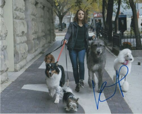 Kathryn Prescott Dog's Journey Autographed Signed 8x10 Photo COA 2019-2