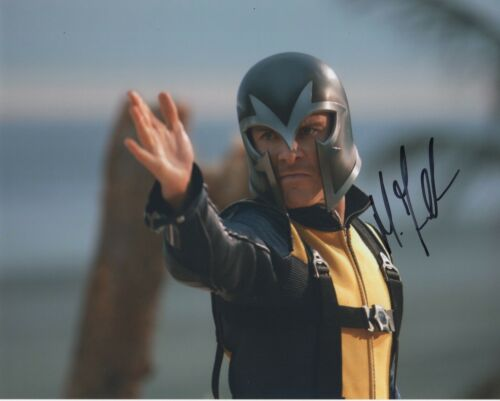Michael Fassbender X-Men Autographed Signed 8x10 Photo COA 2019-1