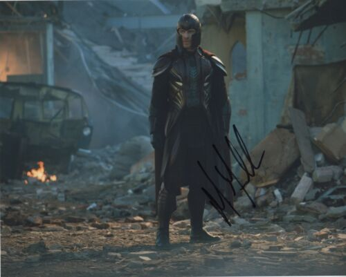 Michael Fassbender X-Men Autographed Signed 8x10 Photo COA 2019-2