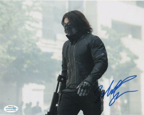 Sebastian Stan Winter Soldier  Autographed Signed 8x10 Photo ACOA  #M8
