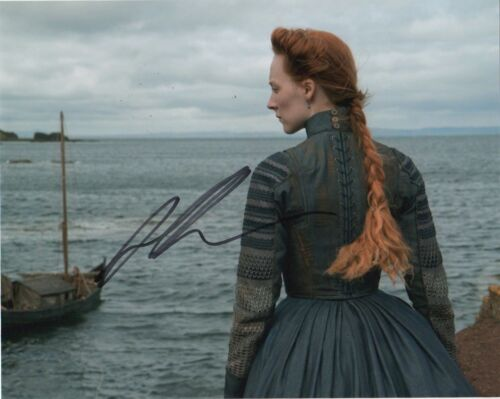 Saoirse Ronan Mary Queen of Scots Autographed Signed 8x10 Photo COA #EB2