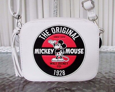 Disney Loungefly Mickey Mouse Crossbody Convertible Backpack Classic Bag NWT